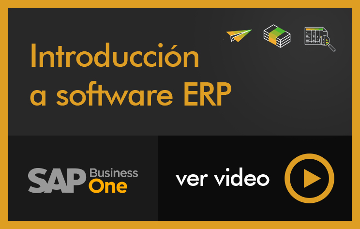 Introducción a software ERP SAP Business One