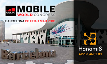 Hanami8 en Mobile World Congress
