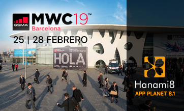 Hanami8 presente en Mobile World Congress 2019